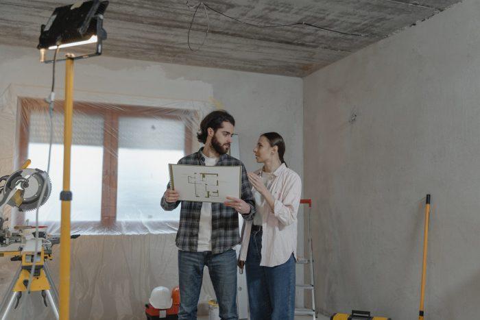 Casa. Cantiere e progetto